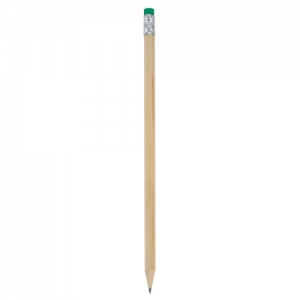 COLOURED RUBBER WOODEN PENCIL