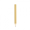 GOLD METALLIC WOODEN PENCIL