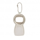 BOTTLE OPENER KEY RING WITH ICE REMOVER