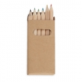 6 COLOURING PENCILS SET