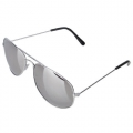 SILVER RB SUN GLASSES