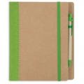 CUADERNO A5 CARTON RECICLADO VE
