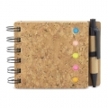 CORK NOTEBOOK PAGEMARKER