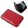 ALUMINIUM ACCORDION CARD-HOLDER
