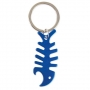 KEY-RING ALUMINUM FISHBONE