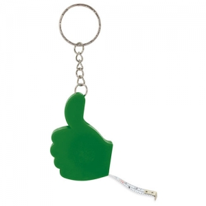 KEY RING WITH  TAPE MEASURE