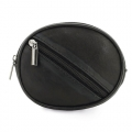 ROUNDED PURSE + KEYRING