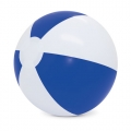 BALON DE PLAYA BLANCO/AZUL