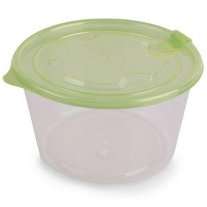 FOOD PLASTIC BOX ROUND
