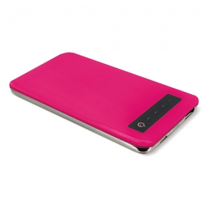 POWER BANK PLANA FUCSIA