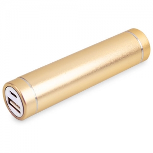 POWER BANK ALUMINIO REDONDO OR