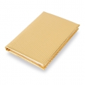 NOTEBOOK METALIC ORO