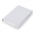 NOTEBOOK METALIC PLATA