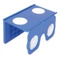 VISOR VR 3D AZUL