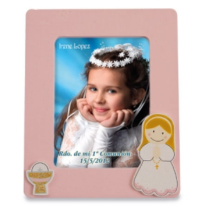 GIRL'S COMMUNION PHOTOFRAME