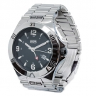 STEEL CASE GMT WATCH
