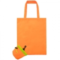 ORANGE FOLDING SHOPPING BAG