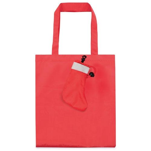 FOLDING BAG CHRISTMAS SOCK