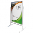 REVOLVING SNAPFRAME STAND DOUBLE SIDE POSTER