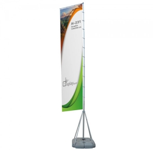 OUTDOOR PROMOTIONAL FLAG 7M