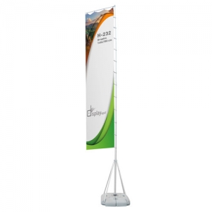 OUTDOOR PROMOTIONAL FLAG 9M