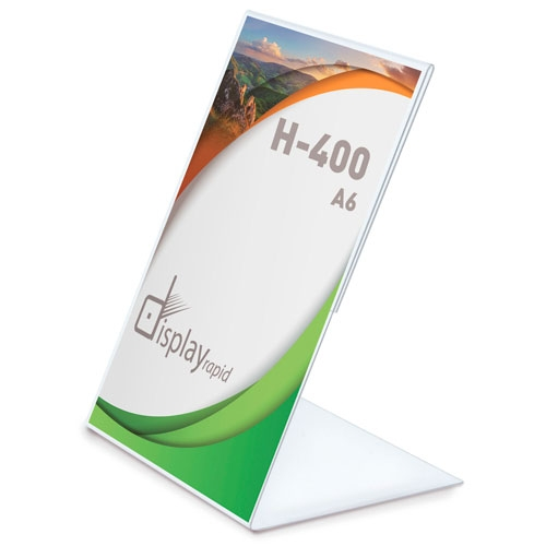 VERTICAL GRAPHIC HOLDER A6