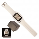 RELOJ FASHION BLANCO