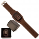 RELOJ FASHION MARRON