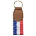 KEYRING MILAN + FLAG FRANCE