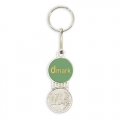 PERSONALISED EURO KEYRING