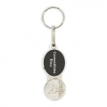 PERSONALIZED EURO KEYRING