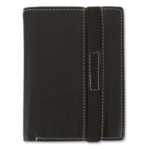 WALLET WITH ELASTIC CLOSURE