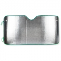 METALLIC CAR SUNSHADE 130X80