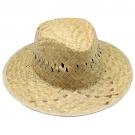 GREEN STRAW HAT INSIDE RIBBON