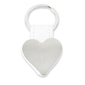 HEART SHAPED METAL KEY-RING