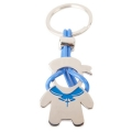 BOY COMMUNION SHAPED METAL KEY-RING