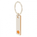 ELONGATED HOUSE KEY-RING