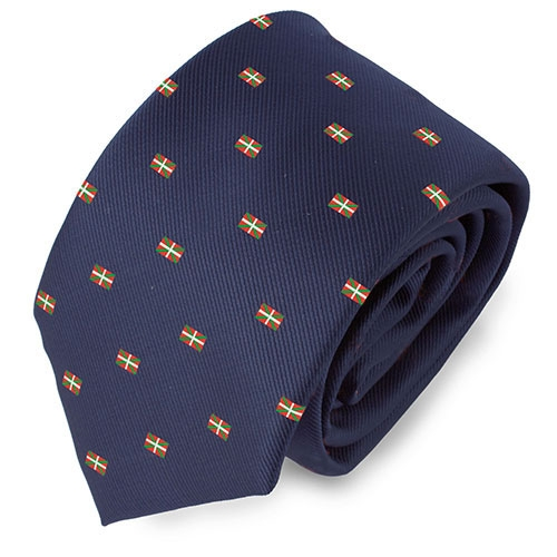 BASQUE COUNTRY FLAG TIE