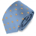 LIGHT BLUE SPAIN FLAGPOLE TIE