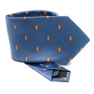 TIE MICRO-FIBRES SPAIN FLAG BLUE