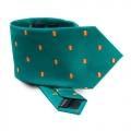 TIE MICRO-FIBRES SPAIN FLAG GREEN
