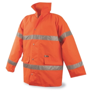PARKA REFLECTANTE NARANJA XL