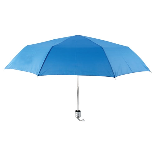 CHROME FOLDING UMBRELLA