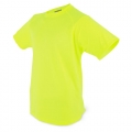 CAMISETA LIGHT D&F NIÑO AMARILLA FLUORESCENTE