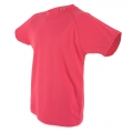 CAMISETA LIGHT D&F NIÑO FUCSIA