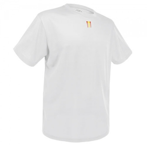 CAMISETA LIGHT ESPAÑA D&F BLANCA