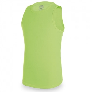 CAMISETA GYM D&F AMARILLO FLUOR L
