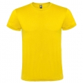 CAMISETA ADULTO ALGODON AMARILLO XL