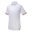 WHITE POLO FLAG STAR L