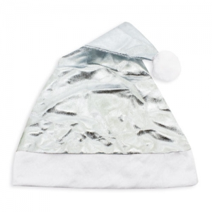 METALLIC CHRISTMAS HAT